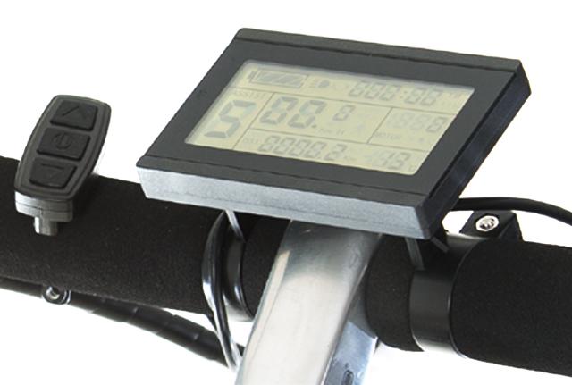LCD display elektrische fiets