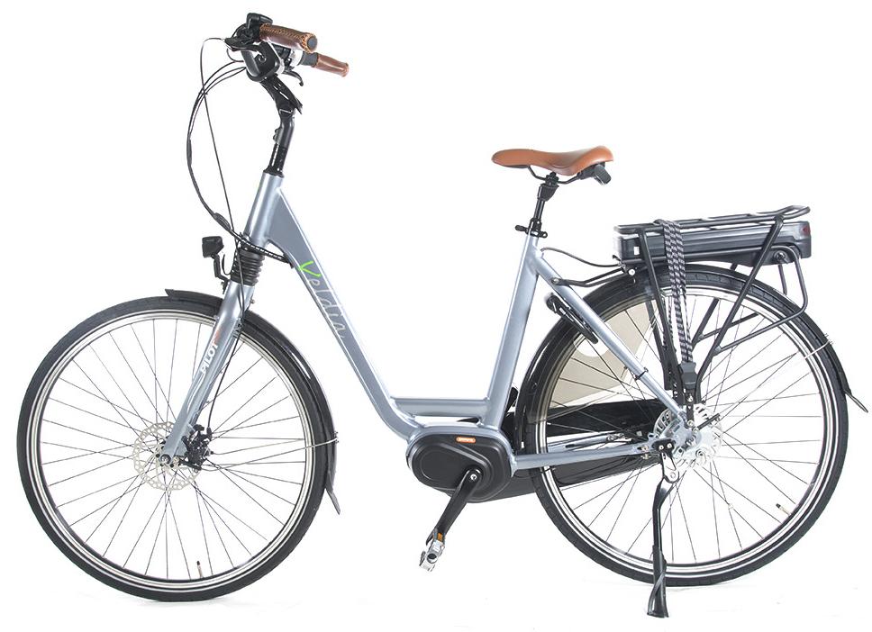 E-bike met midden motor